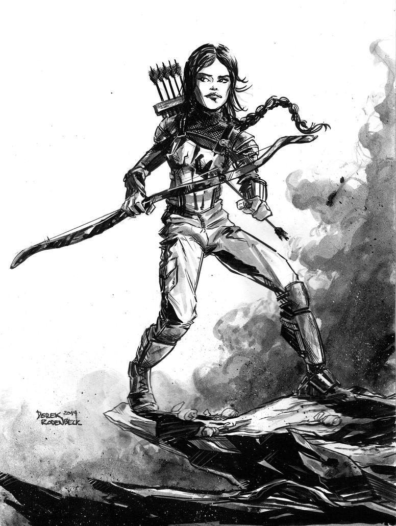 Katniss Everdeen by DerekRodenbeck