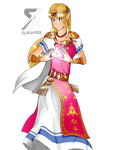 Ultimate Zelda (Transparent) by Slashser