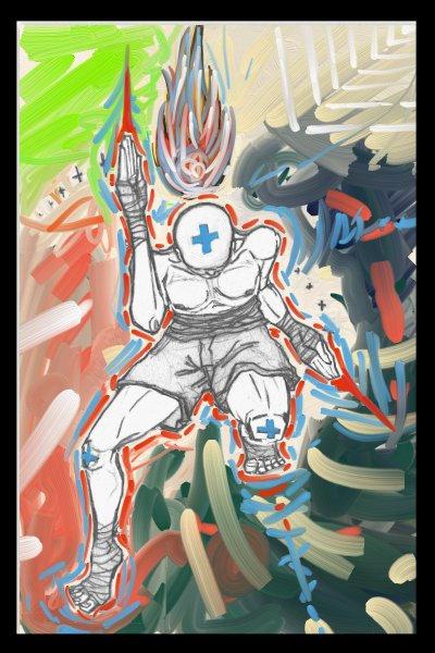 +Super Positive Fighter+color
