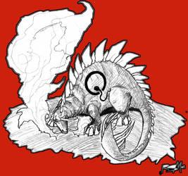 Stegosaurus _red_