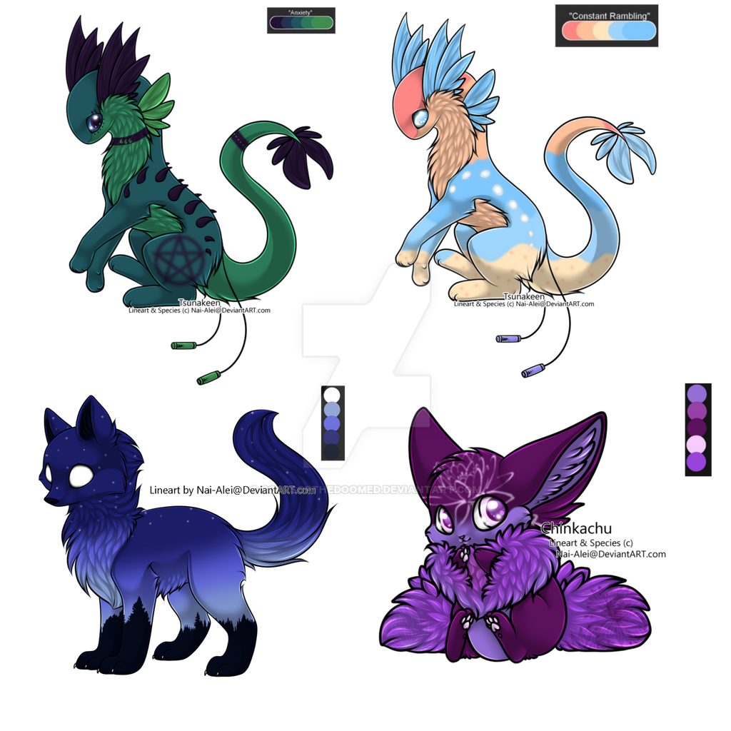 Custom Pallet Adopts for S-adistic-Scars by SoulsofTheDoomed