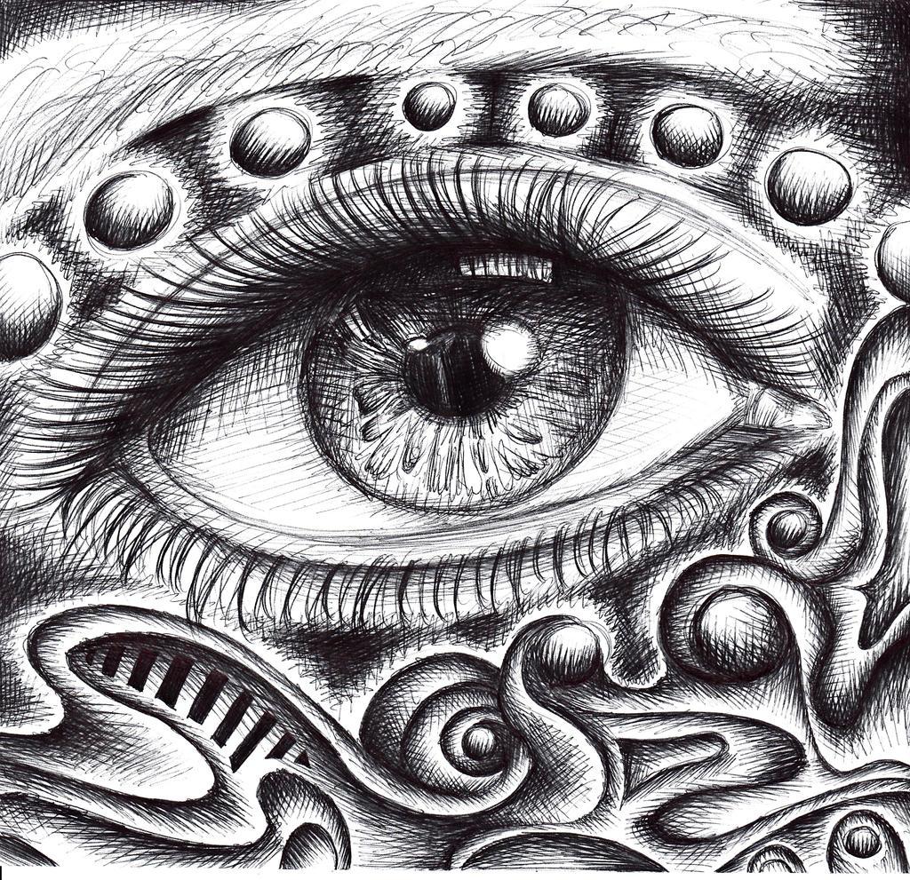 Psychedelic Eye By Chibikelzafox On DeviantArt