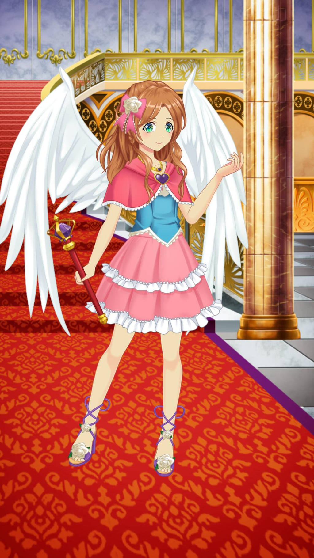 Anime Dress Up: Princess Katy Gladison by PrettyMelodyRhythm on