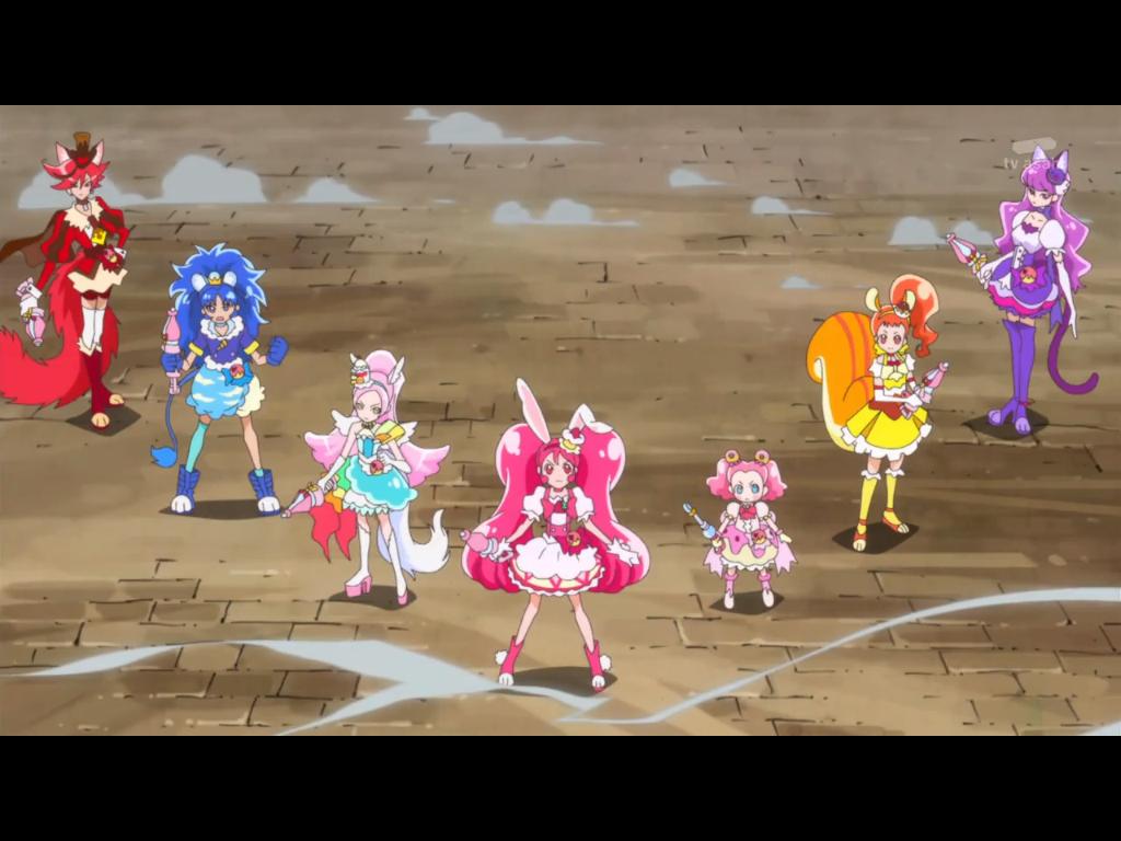 KiraKira Precure Episode 48 (The Team of Seven Pre by PrettyMelodyRhythm