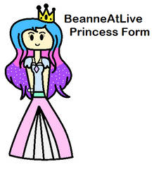 BeanneAtLive Princess Form (Digital Ver.) by PrettyMelodyRhythm