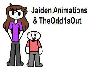 Jaiden Animations and TheOdd1sOut (Digital Ver.) by PrettyMelodyRhythm