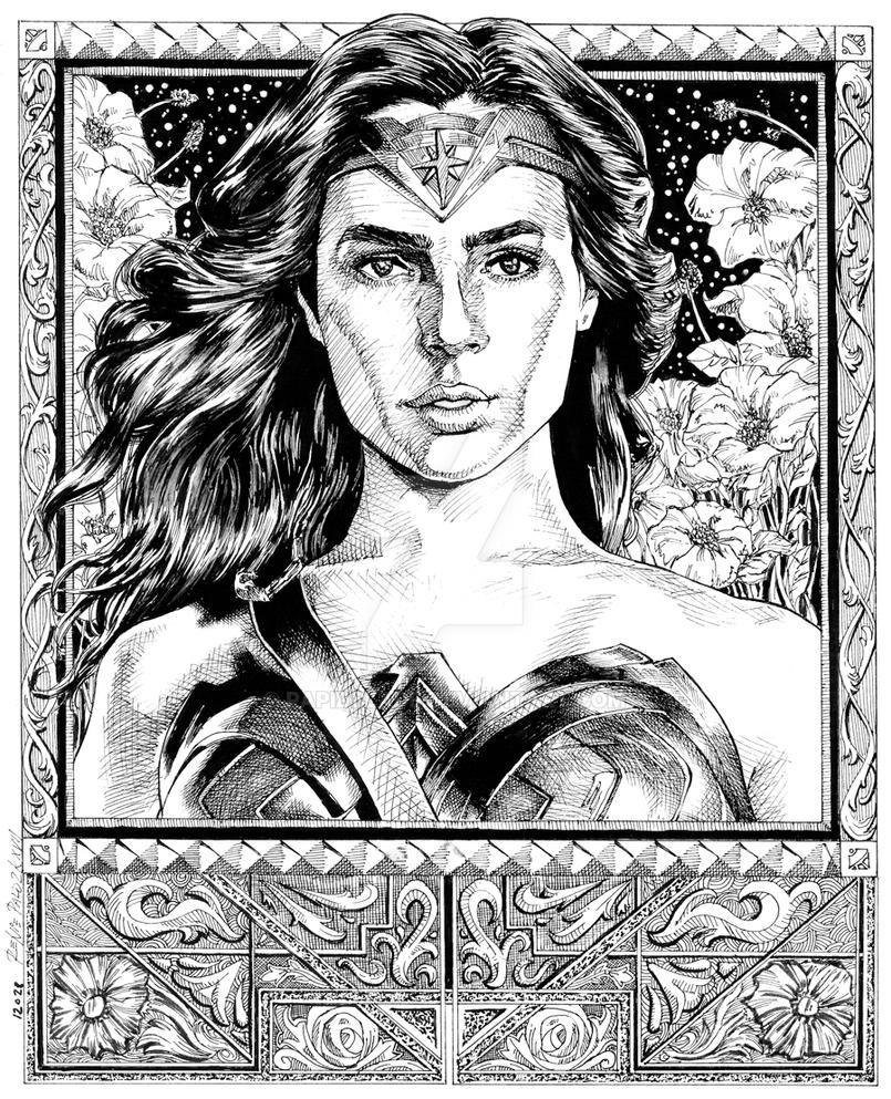 Wonder Woman fanart 001 by RapidBlade