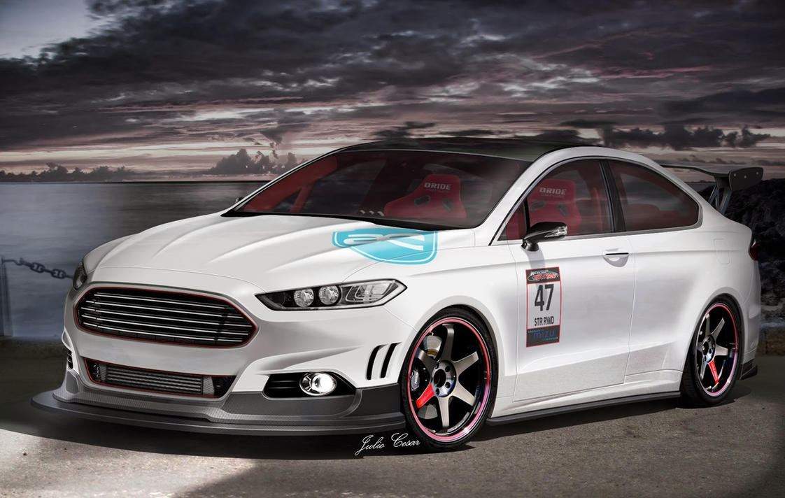 Ford Fusion St >> Virtual Tuning Ford Fusion by TroniXDesign on DeviantArt