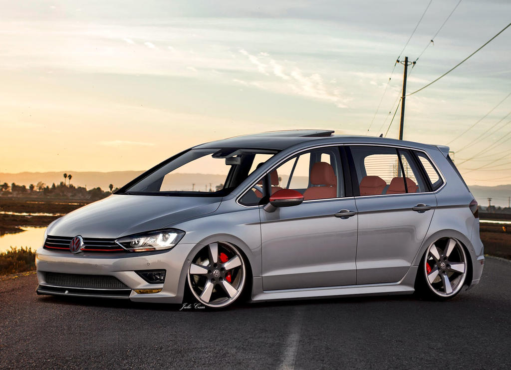 Volkswagen Golf Sportsvan by TroniXDesign on DeviantArt