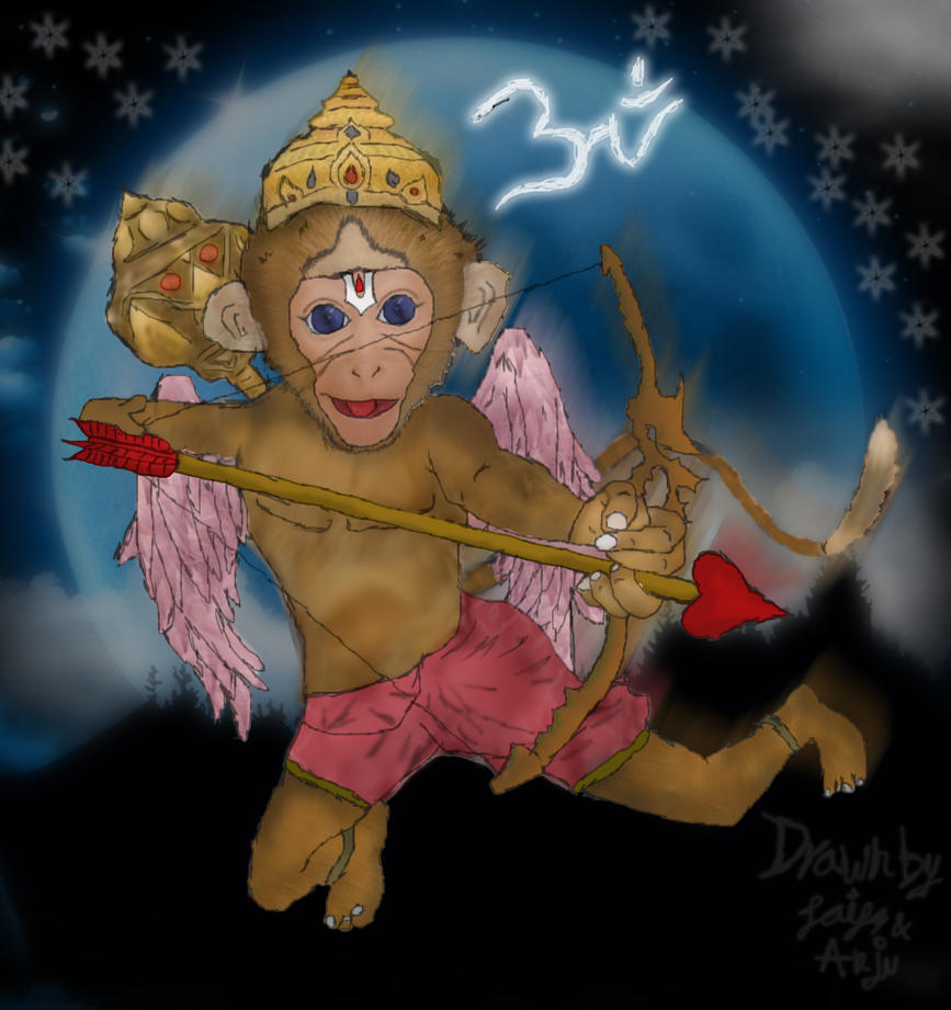 Baby Hanuman Wallpaper