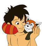 Shonen Mowgli: Mowgli and Kichi