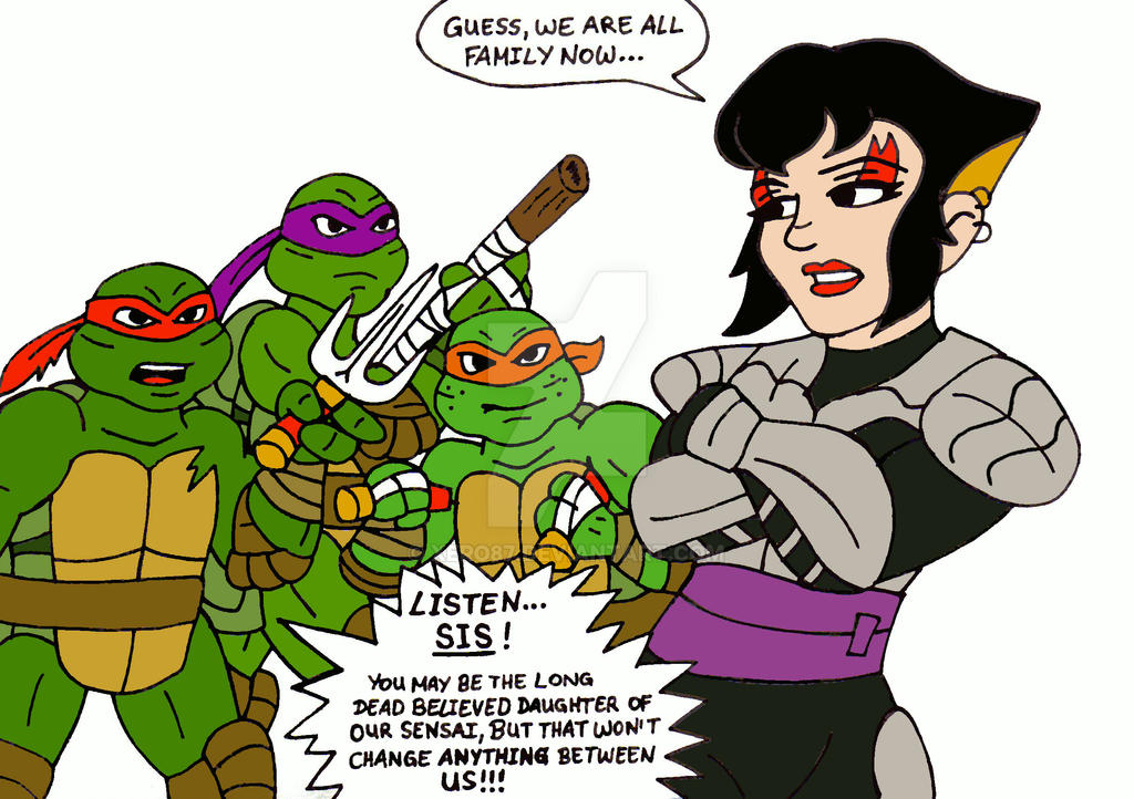 TMNT: The Bitter Truth II by xero87