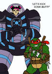 TMNT TFP: Miko and Raph
