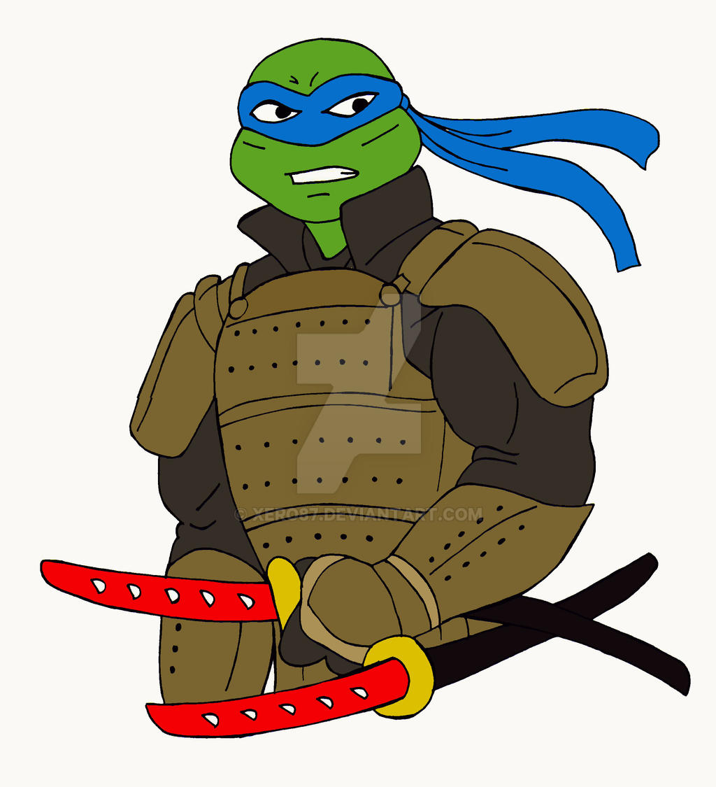 TMNT: Leo The Last Samurai by xero87
