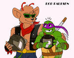 TMNT BMFM: Throttle and Donnie