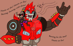 Prime Meets Rid: Miko And Sideswipe