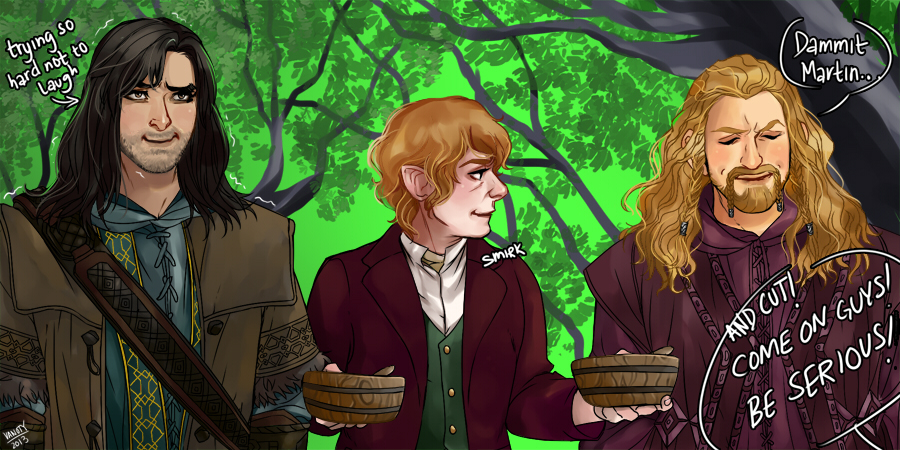 Let S Draw The Hobbit 1 By Vanoty On Deviantart