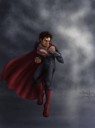 Superman: Man of Steel - Storm by Elmindi
