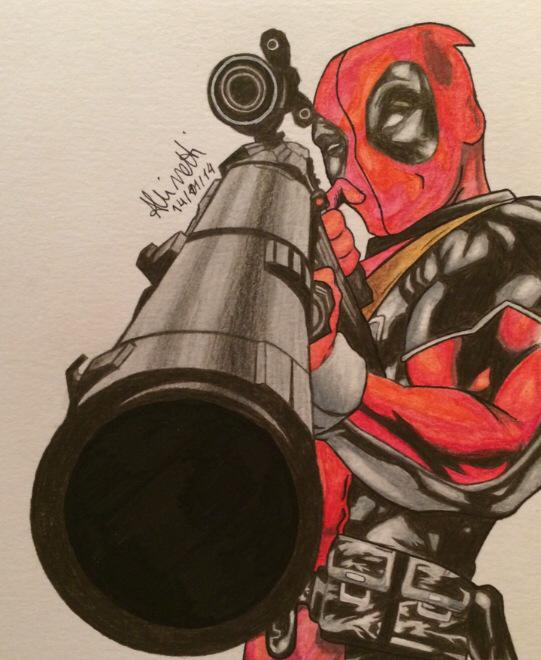 Deadpool by Azerbinatti