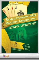 Cratos Premium Poker Marathon Poster by CagriGokoglan