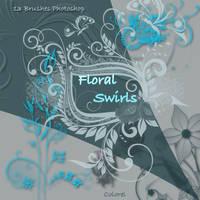 Floral swirls by libidules