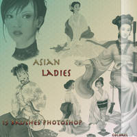 Asian ladies by libidules
