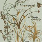 Floral ornaments by libidules