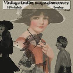 Vintage ladies brushes by libidules