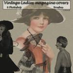 Vintage ladies brushes