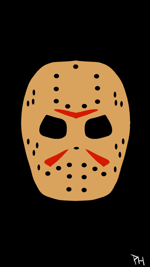 Jason Voorhees iPhone Wallpaper by RealPumpkinHead