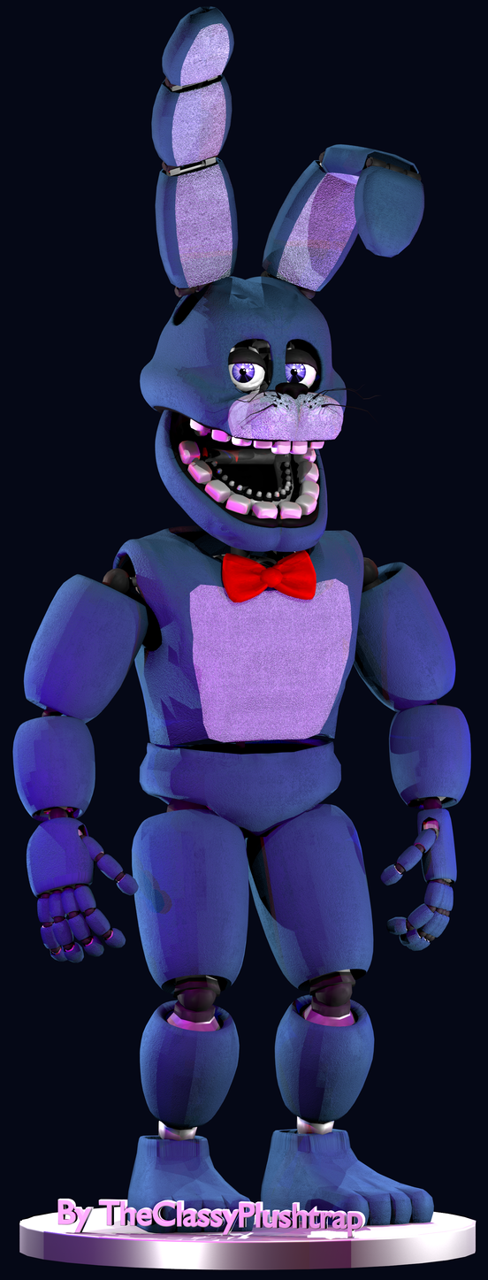 Un-Nightmare Bonnie (Repaired Nightmare Bonnie V2) by ... H20 Delirious Drawings