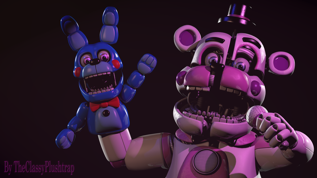 A Psycho Circus Bear by TheClassyPlushtrap