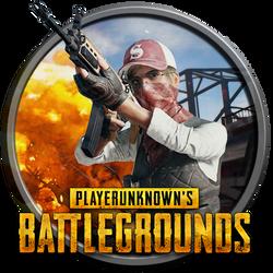 Playerunknown's Battlegrounds Round Icon by EclipX