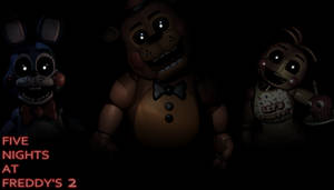 Five Nights at Freddy's 2 Wallpaper - Toy F, B, C by PeterPack
