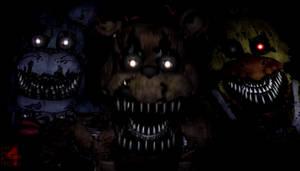 FnaF 4 Wallpaper - Nightmare F, B, C
