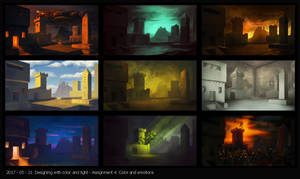 Designing with Color and Light - Assignment 4 by Rastaban26