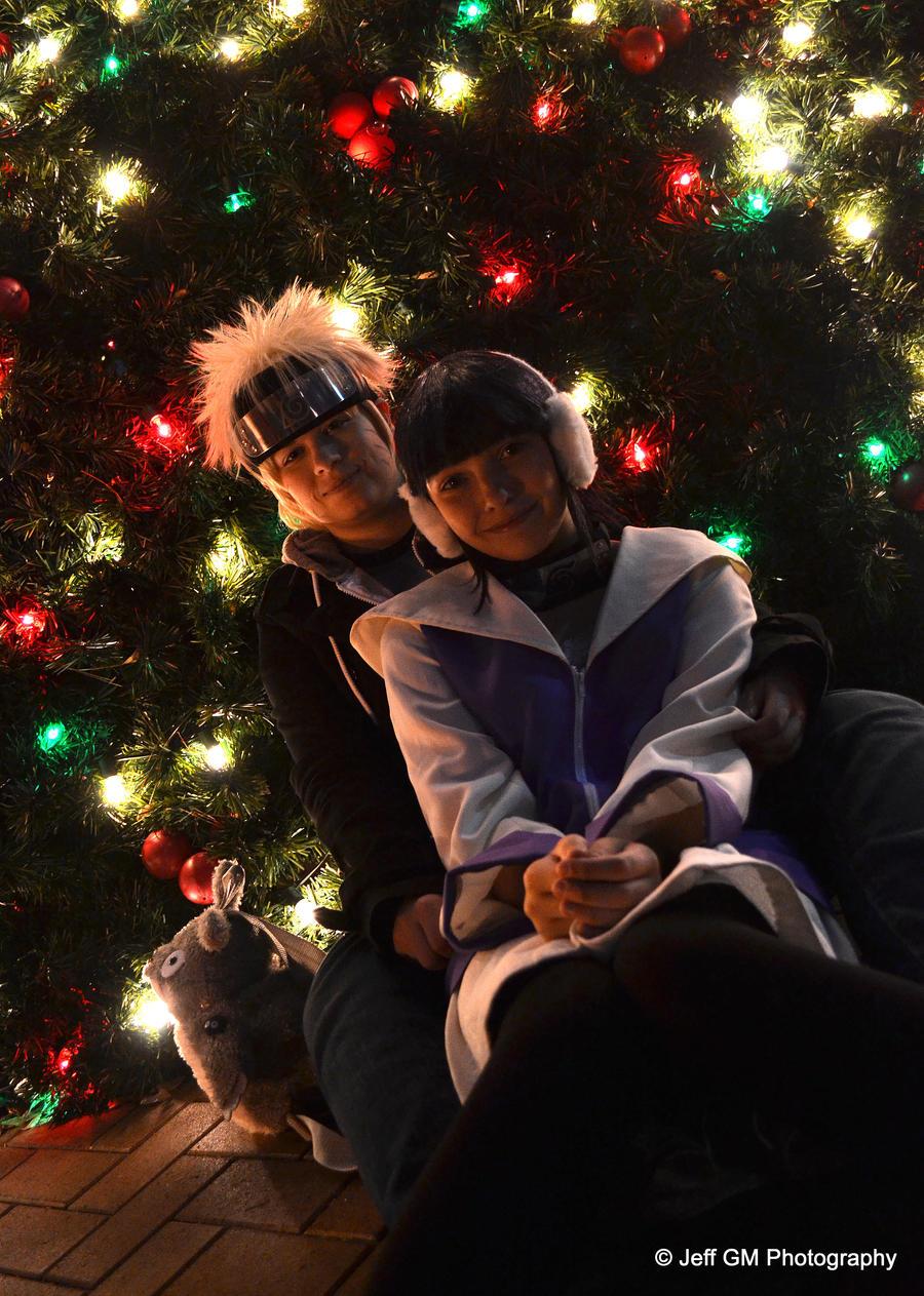 NaruXHina Christmas by GIN180