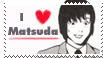 I Love Matsuda .stamp by flatpop-chan