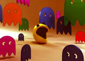 pacman's nightmares by Pushok-12