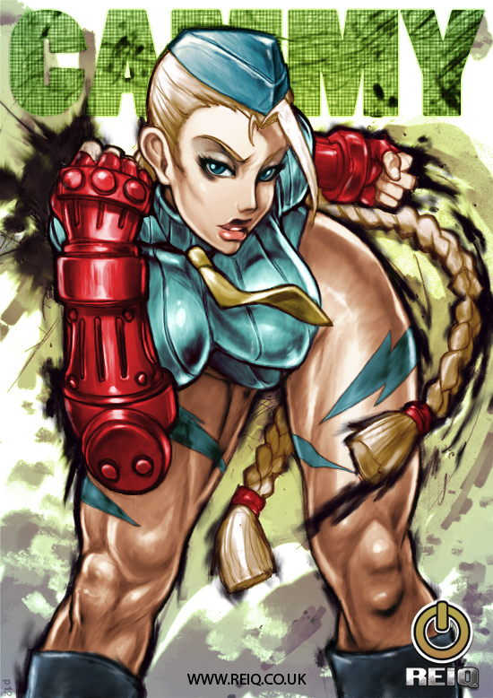 Cammy colored by Pushok-12