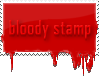 bloody stamp by Pushok-12