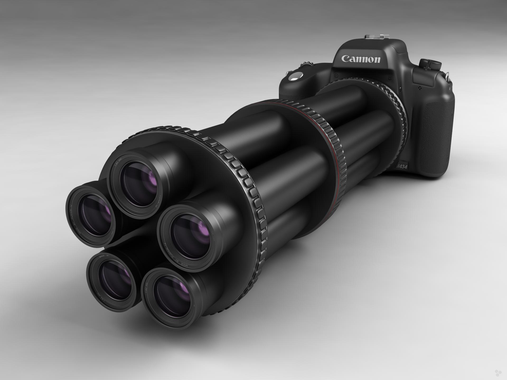 High caliber camera 2 F by Pushok-12