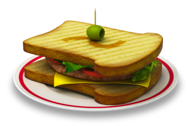 Sandwich for red it studio by Pushok-12