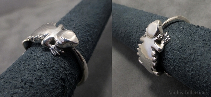 Bearded Dragon Ring by anubiscollections