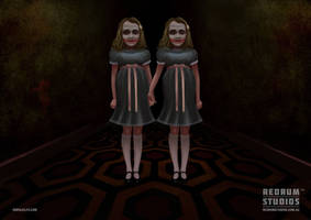 The SHINING TWINS by benjelfs