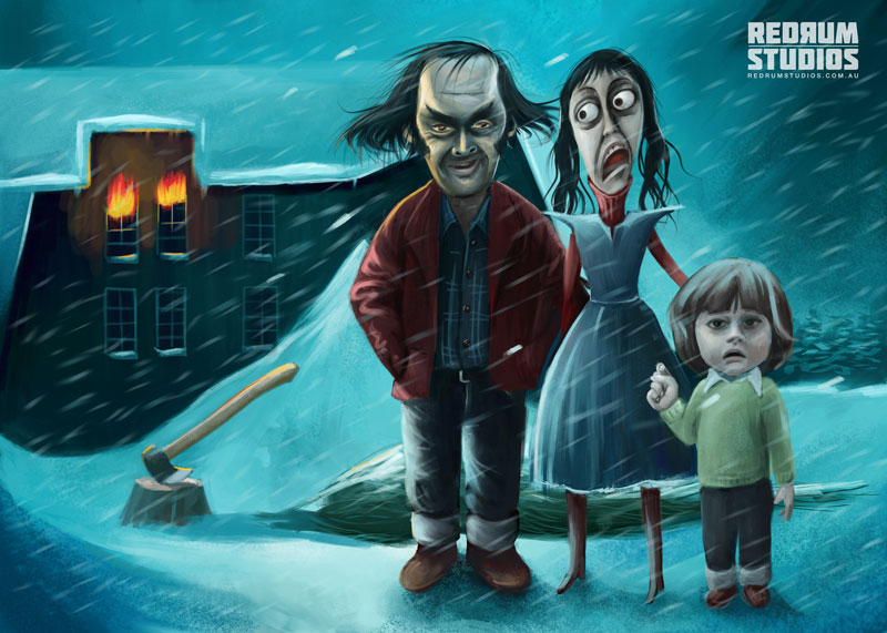 The Shining Xmas by benjelfs on DeviantArt