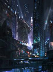 City-scape 2 by pk87