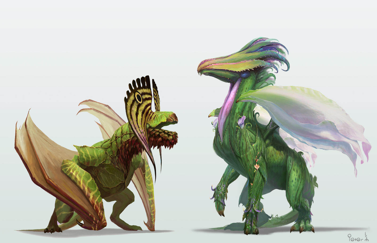 Orchid Dragons by pk87