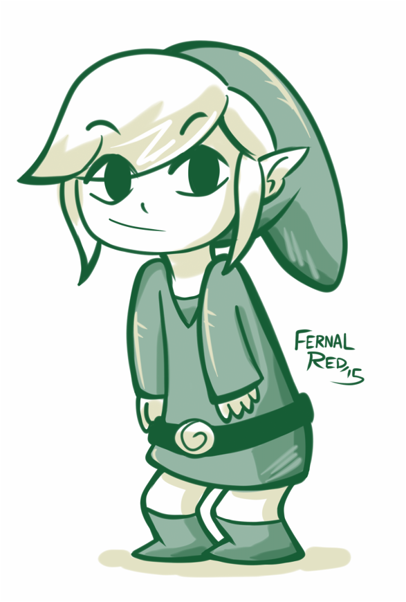 Toon Link by FernalRed
