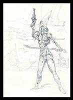 Eldar sketch 2 by Pintoro